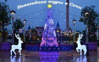 Новогодние туры в Сочи