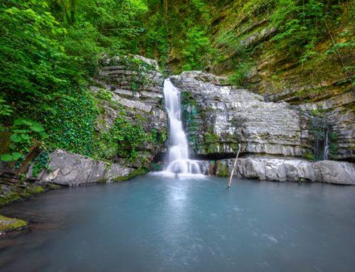 Поход к водопадам на реке дикарка с подъёмом на смотровую площадку горы пикет